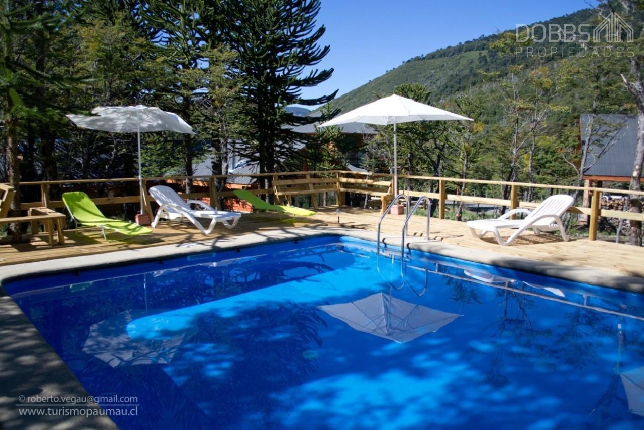 Se Vende Hermoso Complejo Turístico en Centro de Sky Corralco, Malalcahuello, Región de la Araucania
