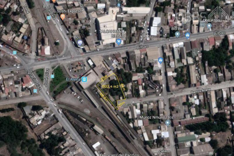 Terreno Talcahuano 1322,4 m2, Estación de Tren.